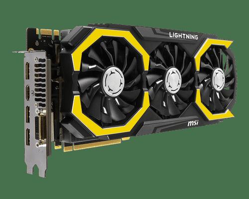 MSI GeForce GTX 980 Ti 6 GB GDDR5 PCI Express 3.0 Lightning Graphic Card
