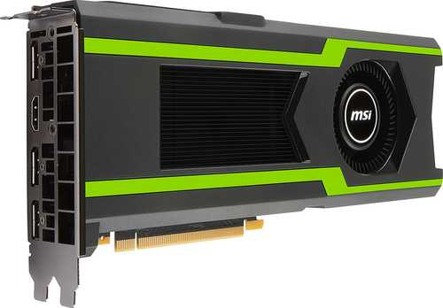 MSI Geforce GTX 1080 Ti 11 GB GDDR5X PCI Express 3.0 Aero OC Edition Graphic Card