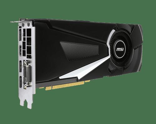 MSI GeForce GTX 1070 Ti 8 GB GDDR5 PCI Express 3.0 Aero Graphic Card