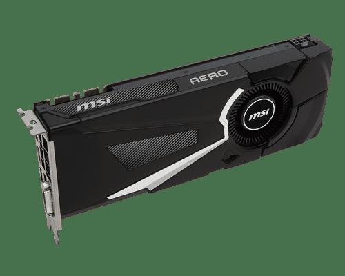 MSI GeForce GTX 1070 8 GB GDDR5 PCI Express 3.0 Aero Graphic Card