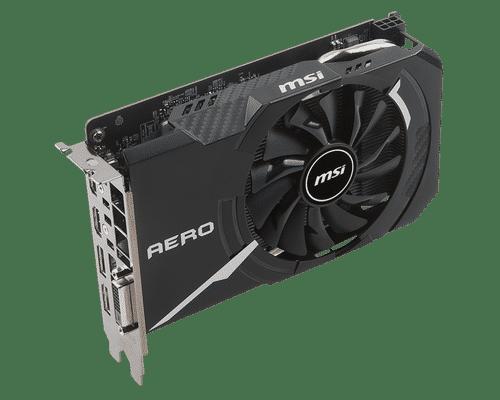 MSI GeForce GTX 1060 6 GB GDDR5 PCI Express 3.0 Aero ITX OC Edition Graphic Card