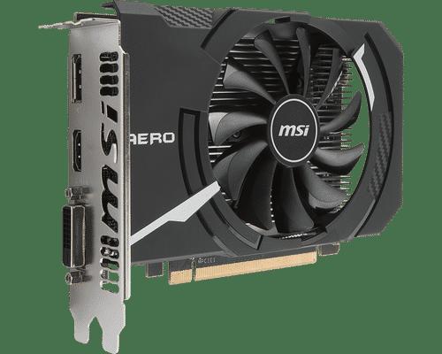 MSI Radeon RX 560 4 GB GDDR5 PCI Express x16 Aero ITX OC Edition Graphic Card
