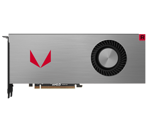 MSI Radeon RX Vega 64 8 GB HBM2 PCI Express x16 Iron Graphic Card
