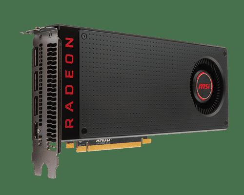 MSI Radeon RX 480 8 GB GDDR5 PCI Express 3.0 VR Ready Graphic Card