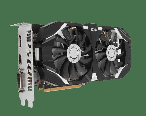 MSI GeForce GTX 1060 6 GB GDDR5 PCI Express 3.0 OC Edition Graphic Card