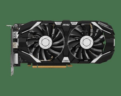 MSI GeForce GTX 1060 3 GB GDDR5 PCI Express 3.0 OC Edition V2 Graphic Card