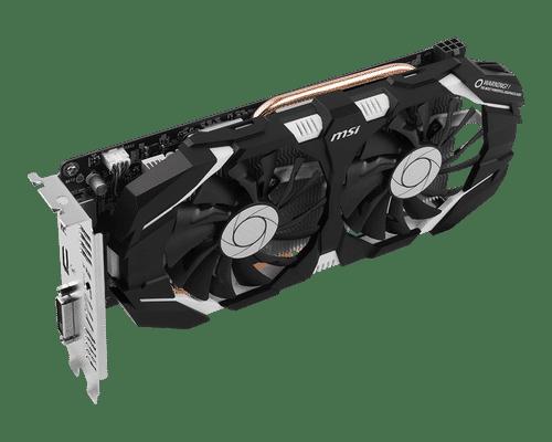 MSI GeForce GTX 1060 3 GB GDDR5 PCI Express 3.0 OC Edition Graphic Card