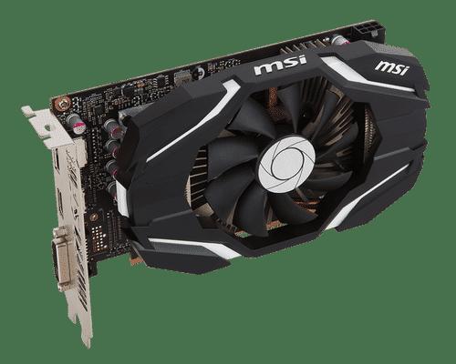 MSI GeForce GTX 1060 3 GB GDDR5 PCI Express 3.0 OC Edition V1 Graphic Card