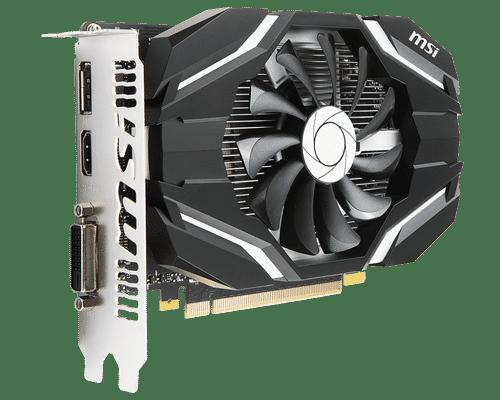 MSI GeForce GTX 1050 Ti 4 GB GDDR5 PCI Express 3.0 OC Edition V1 Graphic Card