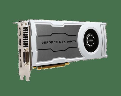 MSI GeForce GTX 980 Ti 6 GB GDDR5 PCI Express 3.0 V1 Graphic Card