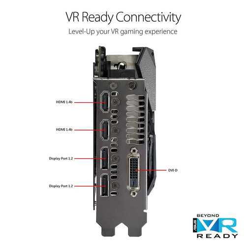 ASUS ROG Strix Radeon RX 580 8 GB GDDR5 PCI Express 3.0 With Aura Sync Graphic Card