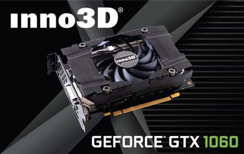 Inno3D GeForce GTX 1060 3 GB GDDR5 PCI Express 3.0 Compact Graphic Card