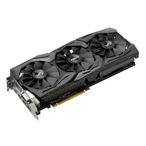 ASUS ROG Strix GeForce GTX 1080 8 GB GDDR5X PCI Express 3.0 OC Edition with Aura Sync RGB Gaming' Graphic Card