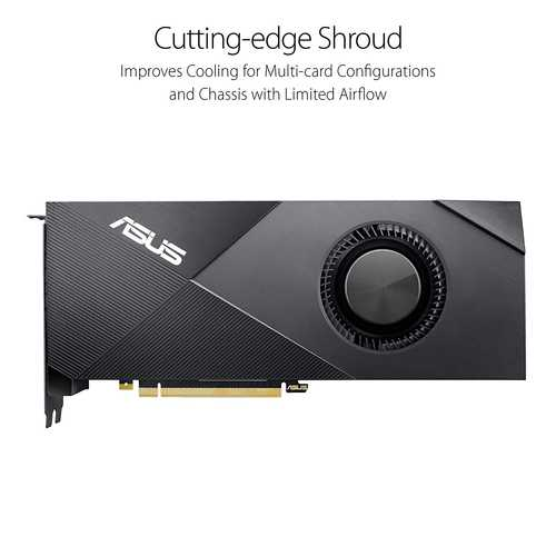 ASUS Turbo GeForce RTX 2080 Ti 11 GB GDDR6 PCI Express 3.0 With High Performance Blower Style Cooling Graphic Card