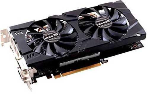 Inno3D GeForce GTX 1060 6 GB GDDR5 PCI Express 3.0 X2 Graphic Card