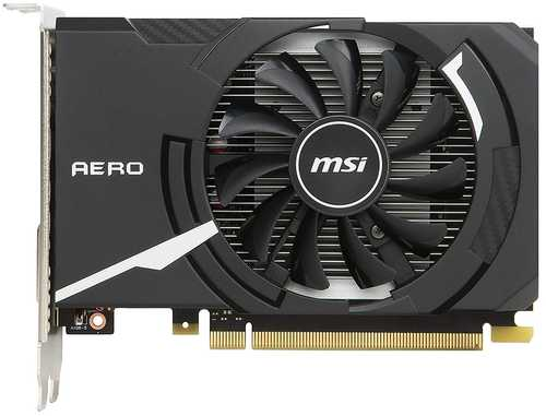 MSI GeForce GT 1030 2 GB GDDR5 PCI Express 3.0 Aero ITX OC Edition Graphic Card