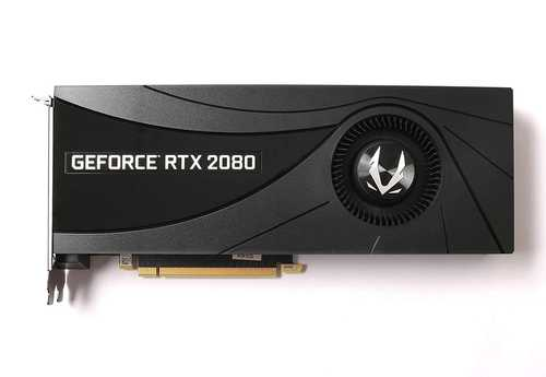 Zotac GeForce RTX 2080 8 GB GDDR6 PCI Express 3.0 Blower Fire Strom Graphic Card