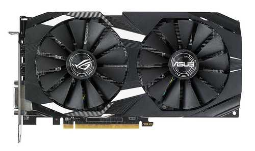 ASUS Dual Radeon RX 580 4 GB GDDR5 PCI Express 3.0 OC Edition Graphic Card