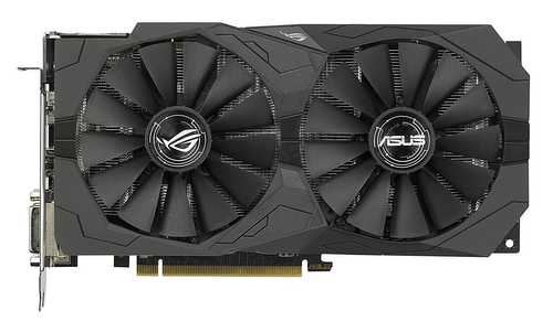 ASUS ROG Strix Radeon RX 570 4 GB GDDR5 PCI Express 3.0 with Aura Sync Gaming Graphic Card