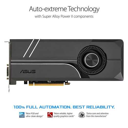 ASUS Turbo GeForce GTX 1070 Ti 8 GB GDDR5 PCI Express 3.0 Graphic Card