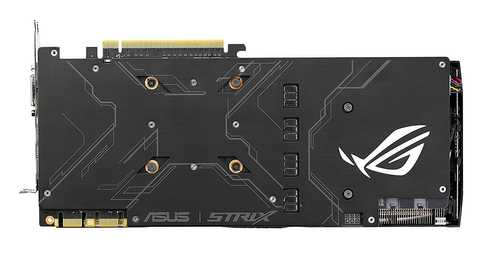 ASUS ROG Strix GeForce GTX 1080 8 GB GDDR5X PCI Express 3.0 Graphic Card