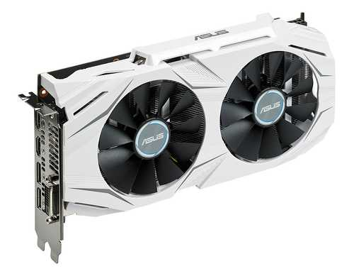 ASUS Dual GeForce GTX 1060 6 GB GDDR5 PCI Express 3.0 OC Edition Gaming Graphic Card