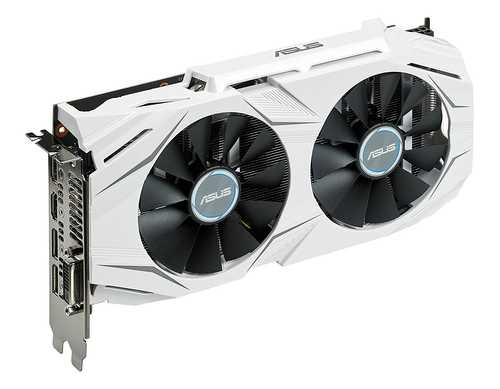 ASUS Dual GeForce GTX 1060 3 GB GDDR5 PCI Express 3.0 OC Edition Gaming Graphic Card
