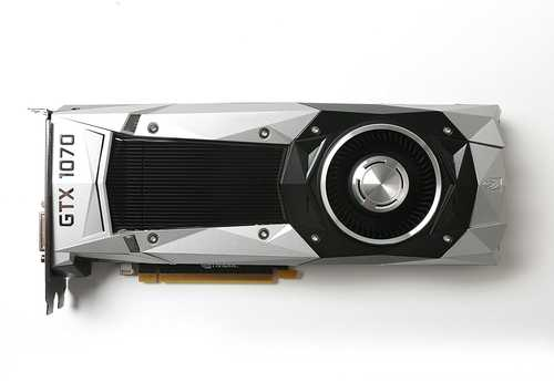 Zotac GeForce GTX 1070 8 GB GDDR5 PCI Express 3.0 Founders Edition Graphic Card