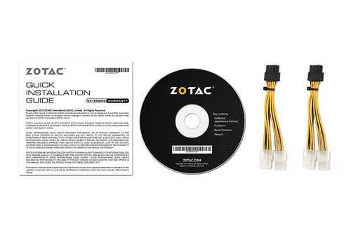 Zotac GeForce GTX 1080 8 GB GDDR5X PCI Express 3.0 AMP Edition Graphic Card
