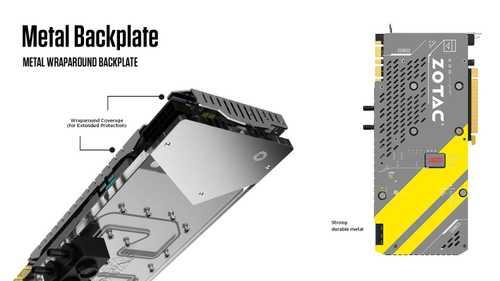 Zotac GeForce GTX 1080 8 GB GDDR5X PCI Express 3.0 ArcticStorm Graphic Card