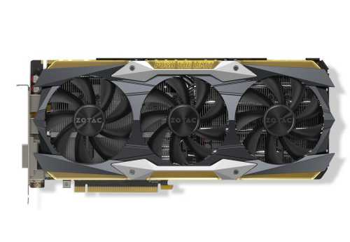 Zotac Geforce GTX 1080 Ti 11 GB GDDR5X PCI Express 3.0 AMP Extreme Graphic Card