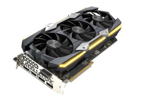 Zotac Geforce GTX 1080 Ti 11 GB GDDR5X PCI Express 3.0 AMP Extreme Core Edition Graphic Card