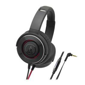 Audio-Technica ATH-WS550IS-BGD Solidbass Wired with Mic Headset (Over-Ear)
