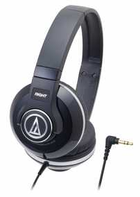 Audio-Technica ATH-S500-NV Street Monitoring Portable Wired without Mic Headphone (On-Ear)