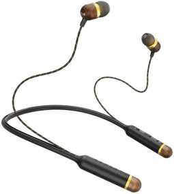 House of Marley EM-JE083-BA Smile Jamaica Wireless Bluetooth with Mic Headset (In-Ear)