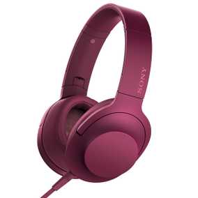 Sony MDR-100AAP Hi-Res Audio Wired with Mic Headphone (On-Ear)