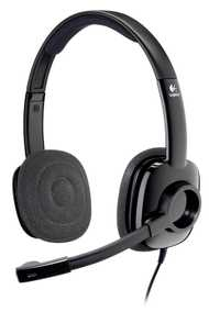 Logitech H250 Stereo Wired with Mic Headset (On-Ear)