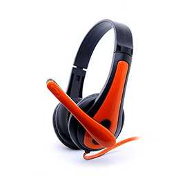 Zebronics Colt 3 Wired with Mic Headset (Over-Ear)