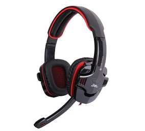 Zebronics Iron Head 7.1 Multimedia Wired with Mic Gaming Headset (Over-Ear)