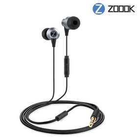 Zoook Jazz Rhythm Wired with Mic Headset (In-Ear)