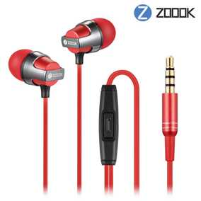 Zoook ZM-EM14 Jazz Wired with Mic Water Resistant Earphone (In-Ear)