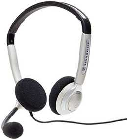 Sennheiser Wideband Dual-Sided Profession Wired without Mic Headphone (On-Ear)