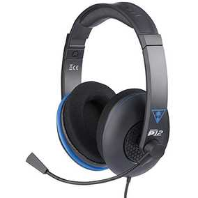 Turtle Beach Ear Force P12 Amplified Stereo Wired with Mic Gaming Headset (Over-Ear)