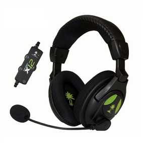 Turtle Beach Ear Force X12 Amplified Stereo Sound Wired with Mic Gaming Headset (Over-Ear)