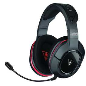 Turtle Beach Ear Force Stealth 450X 7.1 Surround Sound Wired & Wireless (Combo) with Mic Gaming Headset (Over-Ear)