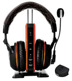 Turtle Beach Black Ops II Tango Programmable Dolby Surround Sound Wireless Bluetooth with Mic Gaming Headset (Over-Ear)
