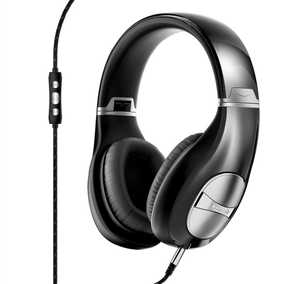 Klipsch Status And 3-Button Control Wired with Mic Headphone (Over-Ear)