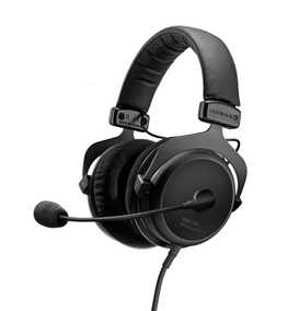 Beyerdynamic MMX-300 Second Generation And Multi-Media Wired with Mic Gaming Headset (Over-Ear)