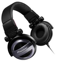 Pioneer SE-MJ732-K Sealed Dynamic Stereo Wired without Mic Headphone (Over-Ear)