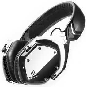 V-MODA Crossfade Phantom Chrome Wired & Wireless (Combo) Bluetooth with Mic Headphone (Over-Ear)